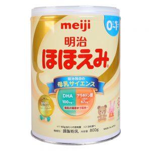 sữa meiji nội địa số 0