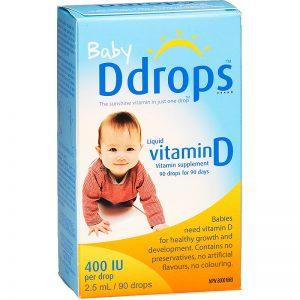 baby drops vitamin D3