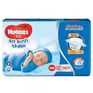 huggies NB 58+2