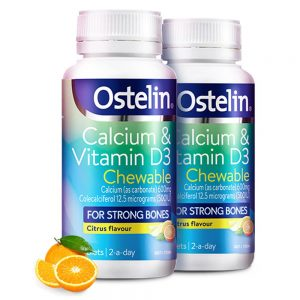 ostelin canxi D3 chewable