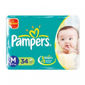 pampers M34