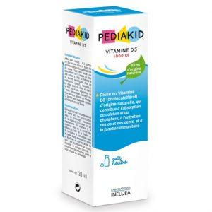 pediakid vitamin D3 1000UI