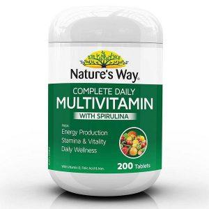 multivitamin & spirulina