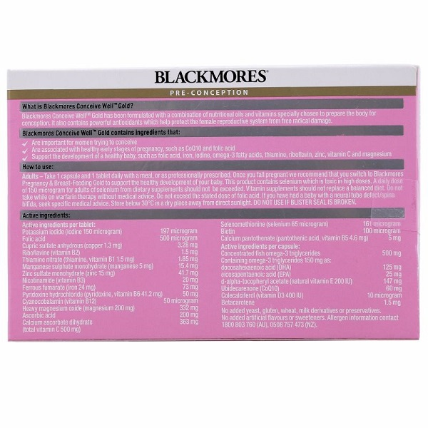 Blackmores-conceive-well-gold