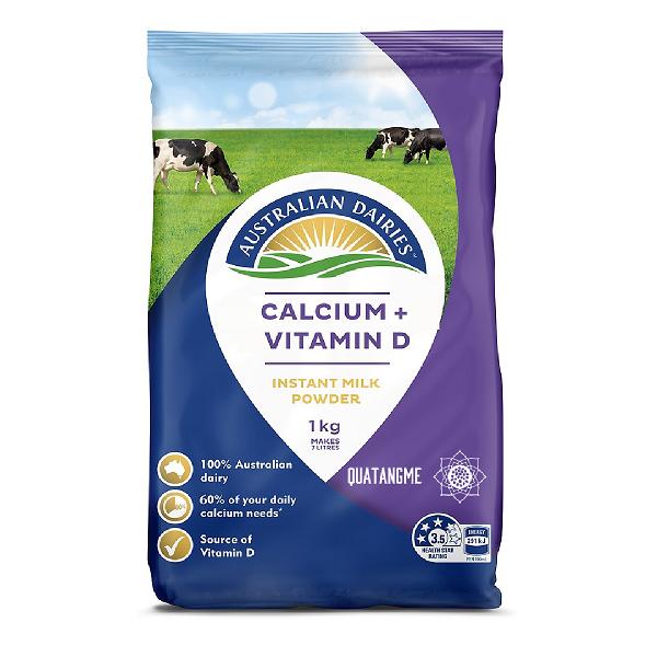 Australian Dairies Calcium+ Vitamin D