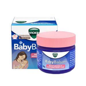 Dầu ấm ngực giảm ho Vick Baby Balsam của Úc dành cho bé từ 3 đến 5 tuổi
