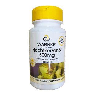 Tinh dầu hoa anh thảo Warnke Nachtkerzenol của Đức lọ 100 viên