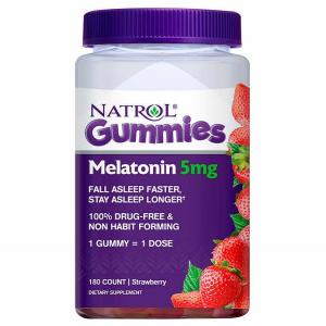 Kẹo dẻo giúp ngủ ngon Natrol Gummies Melatonin