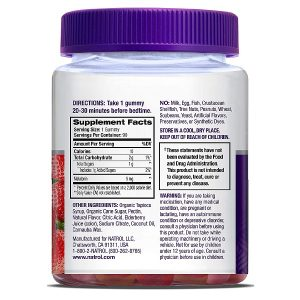 kẹo dẻo natrol gummies melatonin