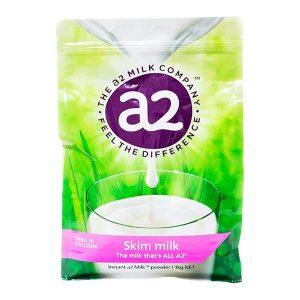 Sữa tươi dạng bột A2 nguyên kem Skim Milk của Úc cho trẻ từ 3 tuổi gói 1kg