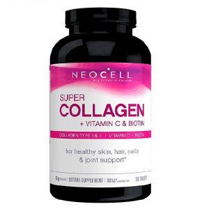 Viên uống bổ sung collagen Neocell Super Collagen + Vitamin C & Biotin của Mỹ lọ 360 viên