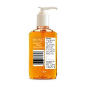 Sữa rửa mặt kiềm dầu, trị mụn Neutrogena Oil Free Acne Wash của Mỹ chai 269ml