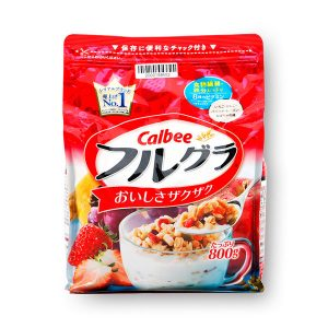 Ngũ cốc calbee đỏ của nhật bản gói 800g.1