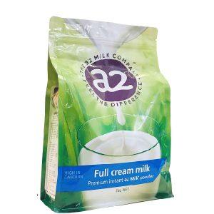 Sữa tươi dạng bột A2 nguyên kem Full Cream Milk của Úc cho trẻ từ 3 tuổi gói 1kg