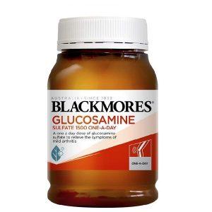 Viên uống bổ xương khớp Blackmores Glucosamine của Úc lọ 180 viên