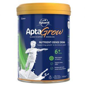 Sữa bột cao năng Aptamil Aptagrow 6+ của Úc cho trẻ từ 6 tuổi hộp 900g