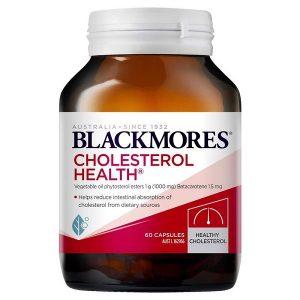 Viên uống hỗ trợ giảm mỡ máu Blackmores Cholesterol Health của Úc lọ