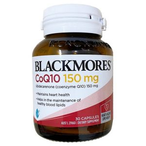 Viên uống bổ tim mạch Blackmores Coq10 150mg của Úc lọ 30 viên