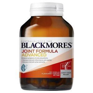 Viên uống hỗ trợ xương khớp Blackmores Joint Formula Advanced của Úc lọ 120 viên