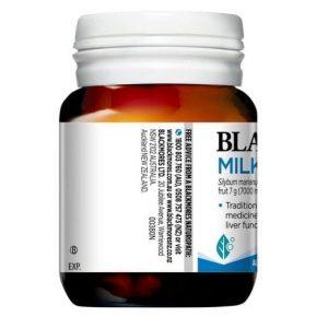 Viên uống bổ gan Blackmores Milk Thistle của Úc lọ 42 viên