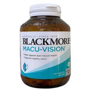 Viên uống bổ mắt Blackmores Macu Vision Eye Macula Health của Úc lọ 150 viên