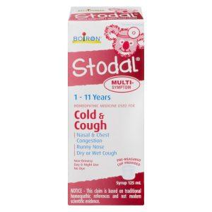 Siro trị ho và cảm cúm Boiron Stodal cold & cough của Canada chai 125ml