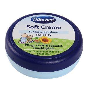 Kem dưỡng da Bubchen Soft Creme hương hoa cúc của Đức cho bé hũ 20ml