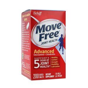 Viên uống bổ khớp Schiff More Free Joint Health Advanced của Mỹ lọ 200 viên