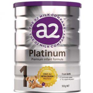 Sữa A2 Platinum Premium Infant Formula của Úc cho trẻ từ 0 đến 6 tháng tuổi hộp 900g
