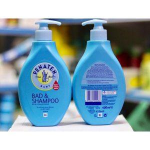 Sữa tắm gội Penaten Baby Bad & Shampoo của Đức cho trẻ sơ sinh chai 400ml