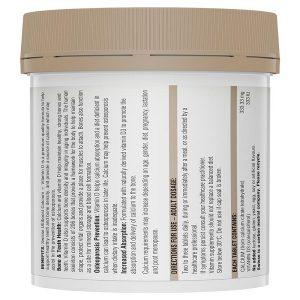 Viên uống chống loãng xương và tăng cường canxi Swisse Ultiboost Calcium + Vitamin D của Úc lọ 150 viên