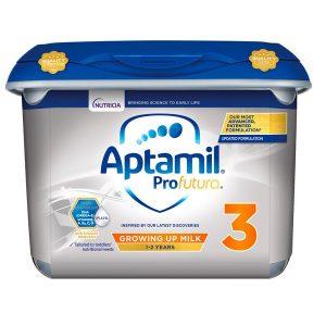 Sữa bột Aptamil Profutura Growing Up Milk số 3 của Anh cho trẻ từ 1 đên 2 tuổi hộp 800g