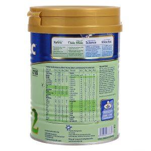 Sữa bột Frisolac Gold số 2 của Việt Nam cho trẻ từ 6 đến 12 tháng hộp 900g