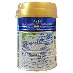 Sữa bột Frisolac Gold Premature cho trẻ sinh non và nhẹ cân của Việt Nam hộp 400g