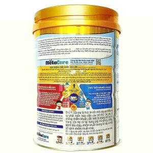 Sữa bột Meta Care số 4 của Việt Nam cho trẻ từ 3 đến 6 tuổi hộp 900g