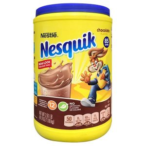 Bột cacao Nestle Nesquik Chocolate Flavor của Mỹ hộp 1,275kg