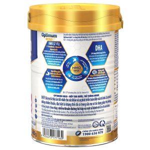 Sữa bột Vinamilk Optimum Gold số 1 của Việt Nam cho trẻ từ 0 đến 6 tháng hộp 400g