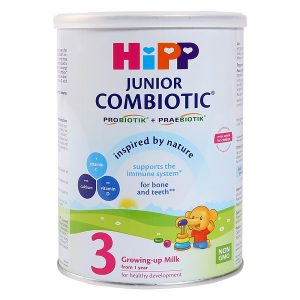 Sữa bột HiPP Combiotic Organic số 3 của Đức cho trẻ từ 1 đến 3 tuổi hộp 800g