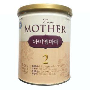 Sữa bột I Am Mother số 2 của Hàn Quốc cho trẻ từ 3 đến 6 tháng tuổi hộp 400g