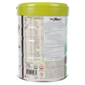 Sữa bột With Mom số 2 của Hàn Quốc cho trẻ từ 7 đến 12 tháng hộp 750g