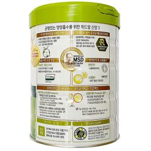 Sữa bột With Mom số 3 của Hàn Quốc cho trẻ từ 1 đến 3 tuổi hộp 750g