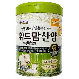 Sữa dê With Mom số 3 của Hàn Quốc cho trẻ từ 1 đến 3 tuổi hộp 750g