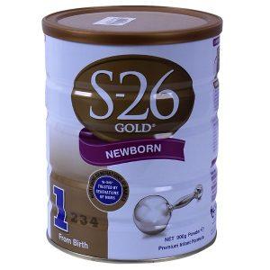 Sữa bột S-26 số 1 Gold Newborn của Úc cho trẻ từ 0 đến 6 tháng hộp 900g