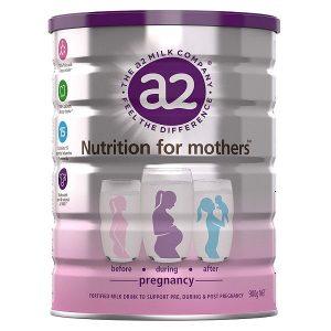 Sữa bột cho bà bầu A2 Nutrition For Mothers Pregnancy của Úc hộp 900g