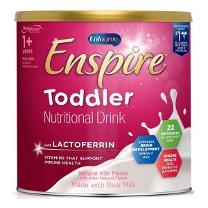 Sữa bột Enspire Toddler Nutritional Drink của Mỹ cho trẻ từ 1 đến 3 tuổi hộp 680g
