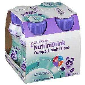 Sữa Nutricia Nutrinidrink Compact Multi Fibre của Hà Lan lốc 4 chai 125ml Theo nghiên cứu của các chuyên gia dinh dưỡng có 3 nhóm nguyên nhân chính dẫn đến tình trạng suy dinh dưỡng ở trẻ Đó là: • Trẻ mắc các bệnh lý nhi khoa cấp tính hoặc mãn tính dẫn đến các rối loạn về chuyển hóa và hấp thu dinh dưỡng kém. • Trẻ mắc các vấn đề về nuôi ăn như chán ăn, biếng ăn, trào ngược, hay nôn trớ…dẫn đến mất dinh dưỡng và rối loạn hấp thu • Trẻ mắc các bệnh lý khác ảnh hưởng đến tâm lý dùng bữa hay các bệnh tăng nhu câu năng lượng và dưỡng chất mà cơ thể không đáp ứng đủ. Hậu quả lâu dài dẫn đến trẻ: • Chậm tăng trưởng • Tăng nguy cơ nhiễm khuẩn và biến chứng • Gây hậu quả xấu trên kết cục lâm sàng • Chậm hồi phục, kéo dài thời gian nằm viện • Chậm phát triển, giảm nhận thức và kỹ năng xã hội Để khắc phục các hậu quả trên cha mẹ cần kịp thời phát hiện ra những thiếu hụt dinh dưỡng trong bữa ăn của trẻ để có phương án xử lý và bổ sung kịp thời. Các nhà khoa học của Nutricia với hơn 100 năm xây dựng thương hiệu trong linh vực dinh dưỡng y học đặc biệt là dinh dưỡng nhi khoa đã tiến hành nghiên cứu trên các đối tưởng trẻ suy dinh dưỡng ở 3 thể nhẹ cân, gầy còm và thấp còi để cho ra giải pháp dinh dưỡng chuyên biệt và lý tưởng sữa Nutricia Nutrinidrink Compact Multi Fibre Giới thiệu về sữa Nutricia Nutrinidrink Compact Multi Fibre Sữa Nutricia Nutrinidrink Compact Multi Fibre - Dinh dưỡng có hàm lượng calo cao đặc biệt dành cho trẻ nhẹ cân hoặc suy dinh dưỡng. Thành phần dinh dưỡng đầy đủ, cân bằng hoàn hảo cho trẻ. Bổ sung hỗn hợp các chất xơ Prebiotics Multi Fiber bao gồm 6 loại chất xơ khác nhau. Đặc biệt có thể sử dụng lâu dài nhằm giúp điều chỉnh hệ vi khuẩn đường ruột. Protein trong sữa là loại protein sữa chất lượng và dễ tiêu hóa. Chất béo là hỗn hợp của dầu hướng dương và dầu hạt cải. Lượng cacbohydrat bao gồm hỗn hợp các disaccharid của oligosaccha. sữa Nutricia Nutrinidrink Compact Multi Fibre Là sáng chế độc quyền của Hãng Nutricia, MF6 là hỗn hợp chất xơ được tổng hợ