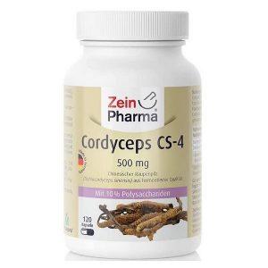 Đông trùng hạ thảo Zein Pharma Cordyceps CS-4 500mg của Đức lọ 120 viên