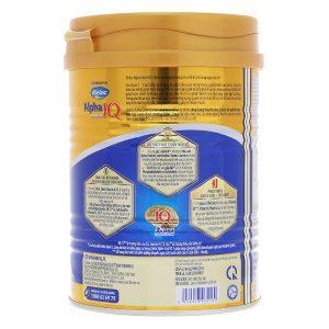 Sữa bột Vinamilk Dielac Alpha Gold 3 của Việt Nam cho trẻ từ 1 đến 2 tuổi hộp 400g