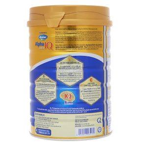 Sữa bột Vinamilk Dielac Alpha Gold 3 của Việt Nam cho trẻ từ 1 đến 2 tuổi hộp 900g