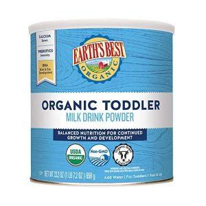 Sữa bột Earth's Best Organic Toddler Milk Drink Powder của Mỹ cho trẻ từ 1 tuổi hộp 680g